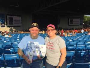William Jarman Jr.  attended Rascal Flatts: Summer Playlist Tour 2019 - Country on Jun 27th 2019 via VetTix