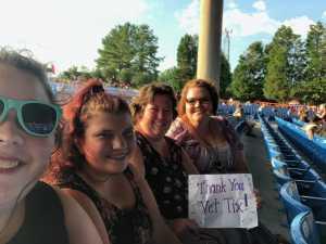 Belinda attended Rascal Flatts: Summer Playlist Tour 2019 - Country on Jun 27th 2019 via VetTix