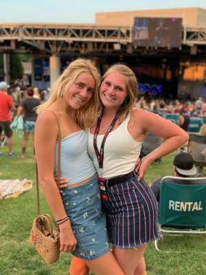 James  attended Rascal Flatts: Summer Playlist Tour 2019 - Country on Jun 27th 2019 via VetTix