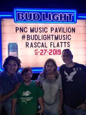 Maura attended Rascal Flatts: Summer Playlist Tour 2019 - Country on Jun 27th 2019 via VetTix