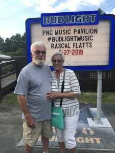 Michael & Deborah Whitt attended Rascal Flatts: Summer Playlist Tour 2019 - Country on Jun 27th 2019 via VetTix