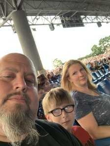 peter attended Rascal Flatts: Summer Playlist Tour 2019 - Country on Jun 27th 2019 via VetTix