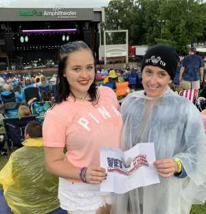 Katie attended Train/goo Goo Dolls - Pop on Jun 23rd 2019 via VetTix
