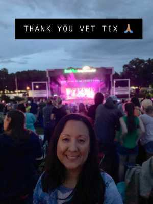 Jessica attended Train/goo Goo Dolls - Pop on Jun 23rd 2019 via VetTix