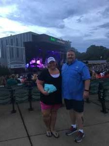 Gregory attended Train/goo Goo Dolls - Pop on Jun 23rd 2019 via VetTix