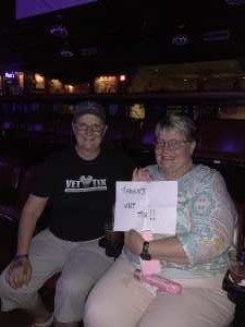 Michele attended A Celebration of Country With Whiskey Bound - Country on Jul 6th 2019 via VetTix