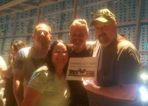 James attended Hootie & the Blowfish: Group Therapy Tour on Jun 22nd 2019 via VetTix
