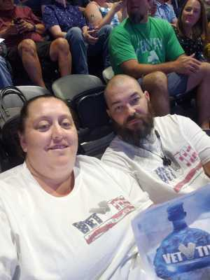 Jimmy attended Hootie & the Blowfish: Group Therapy Tour on Jun 22nd 2019 via VetTix