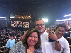 Martin attended Hootie & the Blowfish: Group Therapy Tour on Jun 22nd 2019 via VetTix
