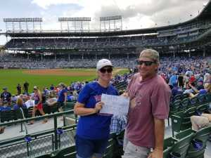 Brian attended Chicago Cubs vs. Seattle Mariners - MLB on Sep 2nd 2019 via VetTix