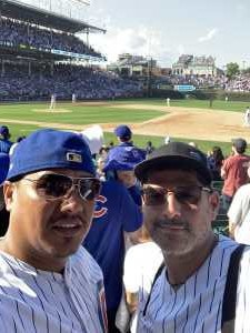 ALFREDO attended Chicago Cubs vs. Seattle Mariners - MLB on Sep 2nd 2019 via VetTix