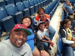 Norman attended Chicago Sky vs. Indiana Fever - WNBA ** Hoops for Troops Night! ** on Jul 21st 2019 via VetTix