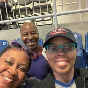 Michelle attended Chicago Sky vs. Indiana Fever - WNBA ** Hoops for Troops Night! ** on Jul 21st 2019 via VetTix