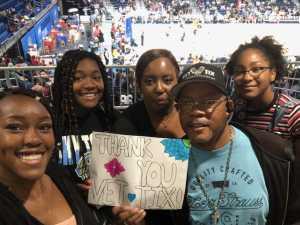 Randye  attended Chicago Sky vs. Indiana Fever - WNBA ** Hoops for Troops Night! ** on Jul 21st 2019 via VetTix