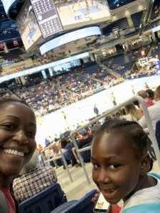 Roshaun attended Chicago Sky vs. Indiana Fever - WNBA ** Hoops for Troops Night! ** on Jul 21st 2019 via VetTix