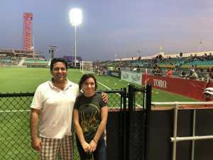 Robert attended Austin Bold FC vs. LA Galaxy II - USL - *** Military Appreciation Match *** on Aug 10th 2019 via VetTix