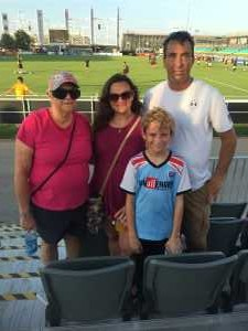 Aaron attended Austin Bold FC vs. LA Galaxy II - USL - *** Military Appreciation Match *** on Aug 10th 2019 via VetTix