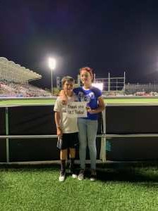 Billy attended Austin Bold FC vs. LA Galaxy II - USL - *** Military Appreciation Match *** on Aug 10th 2019 via VetTix
