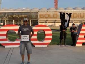 keena attended Austin Bold FC vs. LA Galaxy II - USL - *** Military Appreciation Match *** on Aug 10th 2019 via VetTix