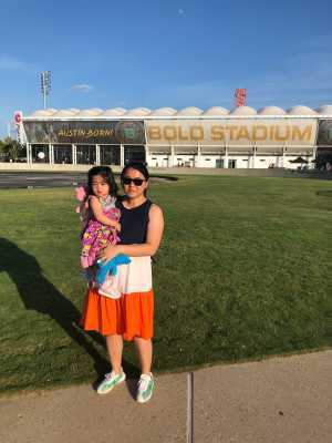 jingzi attended Austin Bold FC vs. LA Galaxy II - USL - *** Military Appreciation Match *** on Aug 10th 2019 via VetTix