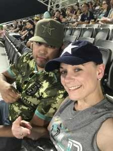 Hope Bromley attended Austin Bold FC vs. LA Galaxy II - USL - *** Military Appreciation Match *** on Aug 10th 2019 via VetTix