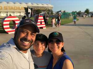 Albert attended Austin Bold FC vs. LA Galaxy II - USL - *** Military Appreciation Match *** on Aug 10th 2019 via VetTix