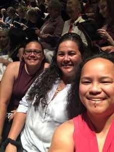 Herlene attended The Luckiest - World-premier Play on Jul 5th 2019 via VetTix