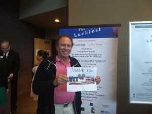 David attended The Luckiest - World-premier Play on Jul 5th 2019 via VetTix