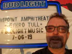 Rob attended Ian Anderson Presents Jethro Tull - 50th Anniversary Tour - Reserved Seating on Jul 6th 2019 via VetTix