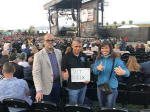 Henry attended Ian Anderson Presents Jethro Tull - 50th Anniversary Tour - Reserved Seating on Jul 6th 2019 via VetTix