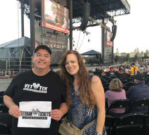 David attended Ian Anderson Presents Jethro Tull - 50th Anniversary Tour - Reserved Seating on Jul 6th 2019 via VetTix