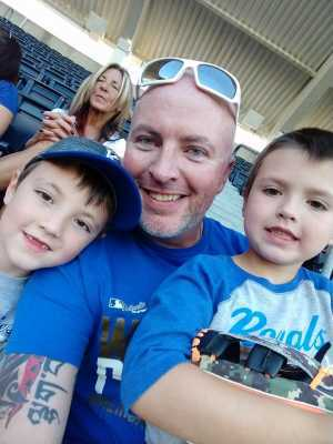 Scott attended Kansas City Royals vs. Cleveland Indians - MLB on Jul 3rd 2019 via VetTix