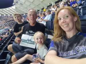James attended Kansas City Royals vs. Cleveland Indians - MLB on Jul 3rd 2019 via VetTix