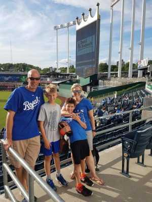 Ryan attended Kansas City Royals vs. Cleveland Indians - MLB on Jul 3rd 2019 via VetTix