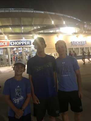 brian attended Kansas City Royals vs. Cleveland Indians - MLB on Jul 3rd 2019 via VetTix