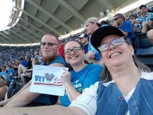 Carla attended Kansas City Royals vs. Cleveland Indians - MLB on Jul 3rd 2019 via VetTix
