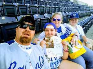 Michael attended Kansas City Royals vs. Cleveland Indians - MLB on Jul 3rd 2019 via VetTix