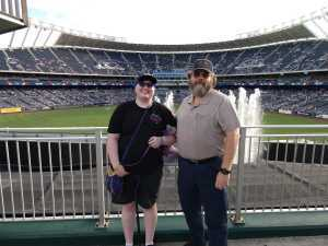John attended Kansas City Royals vs. Cleveland Indians - MLB on Jul 3rd 2019 via VetTix