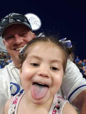 Gann family attended Kansas City Royals vs. Cleveland Indians - MLB on Jul 3rd 2019 via VetTix
