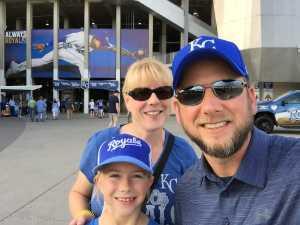 Mike attended Kansas City Royals vs. Cleveland Indians - MLB on Jul 3rd 2019 via VetTix