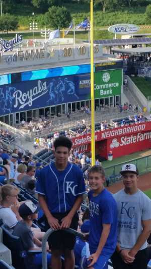 Gregory attended Kansas City Royals vs. Cleveland Indians - MLB on Jul 3rd 2019 via VetTix