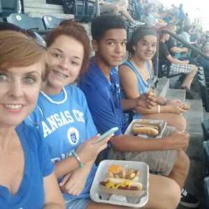 Sarah attended Kansas City Royals vs. Cleveland Indians - MLB on Jul 3rd 2019 via VetTix