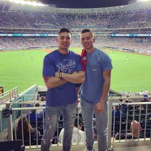 Landon attended Kansas City Royals vs. Cleveland Indians - MLB on Jul 3rd 2019 via VetTix