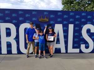Jeremy attended Kansas City Royals vs. Cleveland Indians - MLB on Jul 3rd 2019 via VetTix