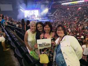 Leah Saflowski attended Jennifer Lopez - It's My Party - Latin on Jul 5th 2019 via VetTix