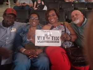Yvette  attended Jennifer Lopez - It's My Party - Latin on Jul 5th 2019 via VetTix