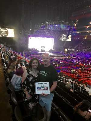 Christopher attended Jennifer Lopez - It's My Party - Latin on Jul 5th 2019 via VetTix