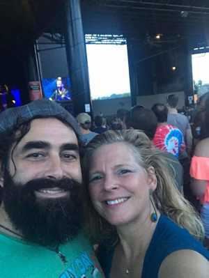 G. Anthony  attended Dave Matthews Band - Alternative Rock on Jul 3rd 2019 via VetTix