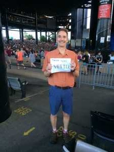 David attended Dave Matthews Band - Alternative Rock on Jul 3rd 2019 via VetTix