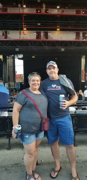 Luke attended Dave Matthews Band - Alternative Rock on Jul 3rd 2019 via VetTix